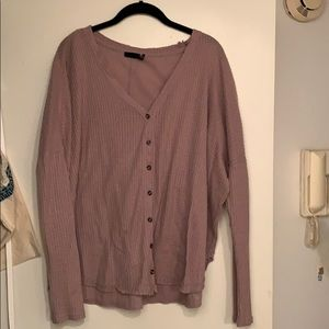 Urban outfitters thermal top